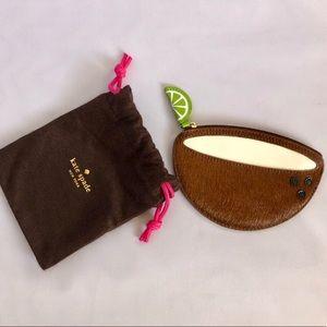 ♠️ Kate Spade Coconut Lime Coin Purse